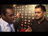 Новое интервью Ксавье Вудса с Финном Балором перед презентацией игры WWE 2K16