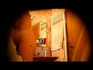 Mom voyeur bathroom