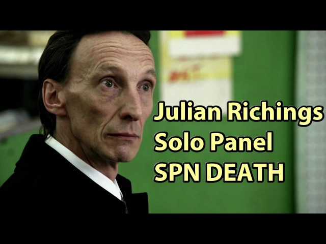 Julian Richings Phoenix Comicon Fan Fest Panel SPN Super Natural Death