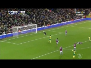 Норвич Сити - Астон Вилла 2-0 (28 декабря 2015 г, Чемпионат Англии)