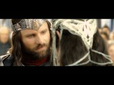 The Lord Of The Rings - The Coronation Of Aragorn scene