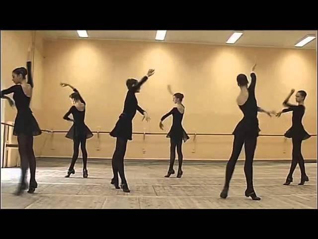 Урок народно сценического танца Академия Русского Балета им А Я Вагановой
