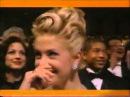 Mira Sorvino Wins Oscar 1996 / Martin Landau Presents