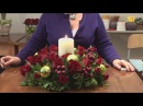 How To Design Christmas Candle Centerpieces