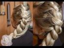 Плетение волос веревочка жгут