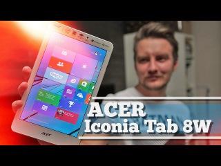 Обзор планшета - Acer Iconia Tab 8W (2015)