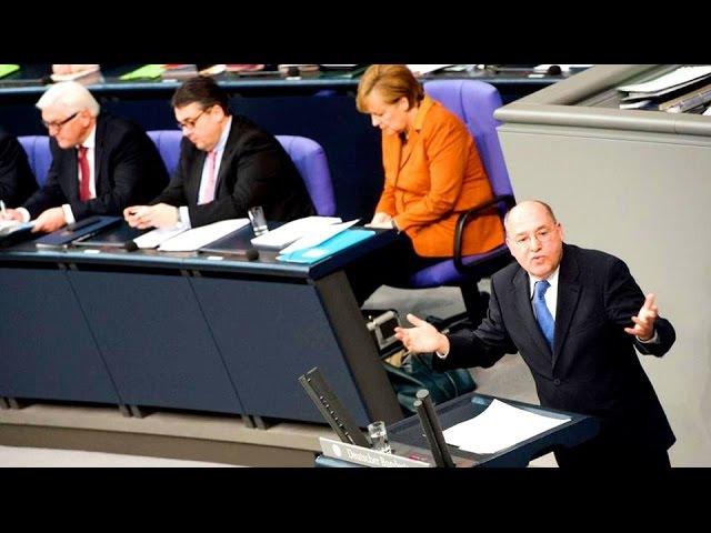 Кролик и удав Меркель тупит на шквал вопросов от Г Гизи Зачем вы обостряете конфликт с Россией