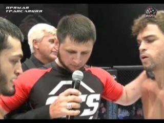 Charles «Gracie» Andrade (BRZ) vs Abukar Yandiev (RUS)