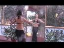 Видео-уроки с Катей Jiva (sacret tribe). Урок 6: Базовые шаги. Бедра (маятник, тряска)