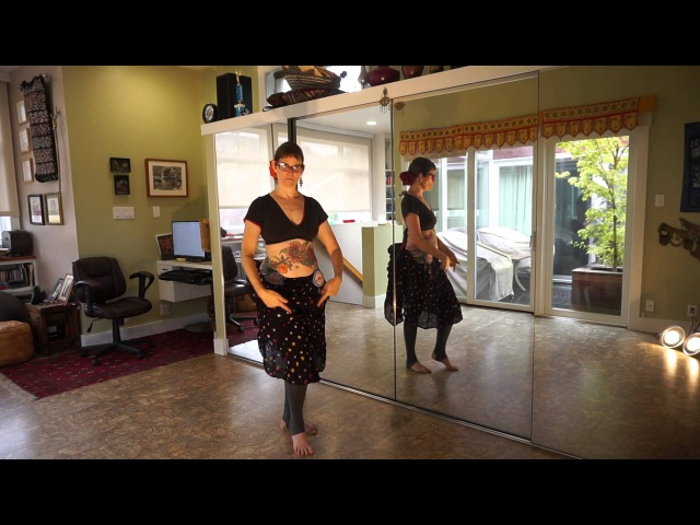 Tribal Belly Dance Drill Shimmy