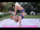 How to do Yoga Scorpion Handstand, Student Questions with Kino
