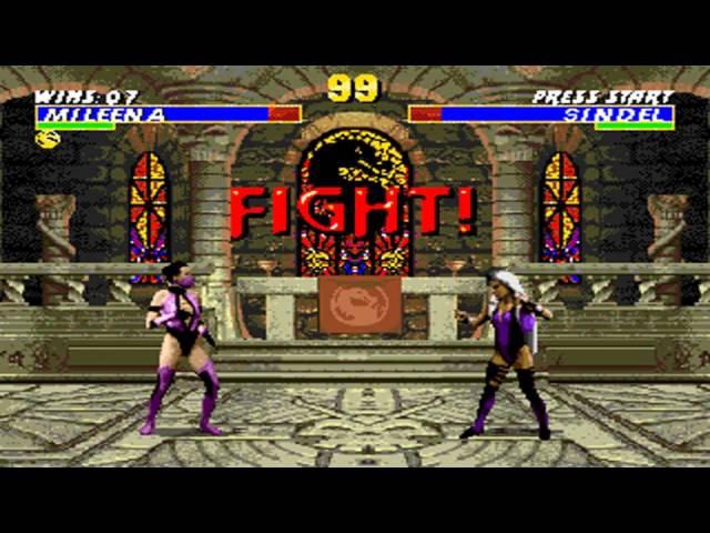 Ultimate Mortal Kombat 3 Mileena