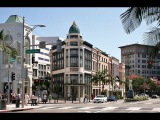 Родео Драйв и Санта Моника. Лос-Анджелес, США. Rodeo Drive and Santa Monika. Los Angeles, USA.