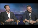 Leonardo DiCaprio and Tom Hardy on 'The Revenant' and if They'll Ever Direct
