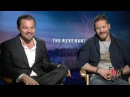 Leonardo DiCaprio Tom Hardy Interview The Revenant