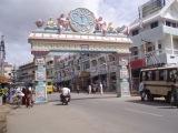 Танцы на улице Бангалора. Индия