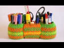How To 3D Origami Pen Holder 3 In 1