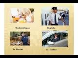 урок французского, французский язык,французский язык для начинающих: les professions