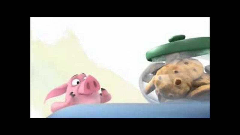 Мультик про свинью и печеньки Pixar