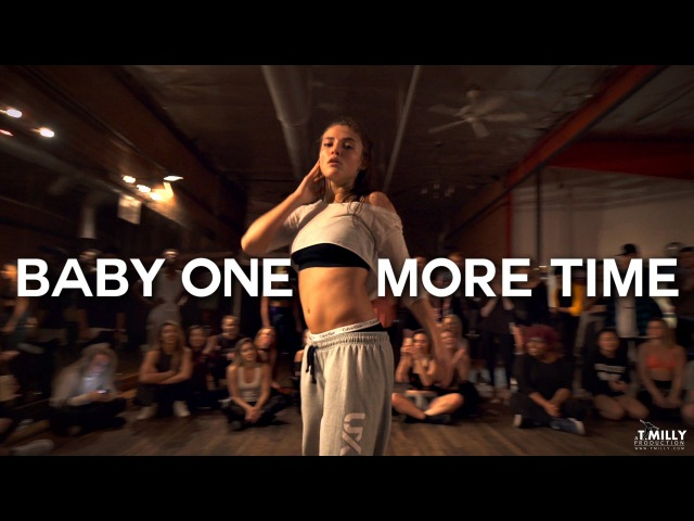Jade Chynoweth performs Baby One More Time Choreography by Yanis Marshall | Filmed by @TimMilgram
