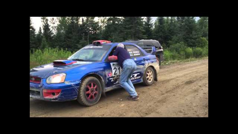 My summary of Day 2 at New England Forest Rally NEFR 2015