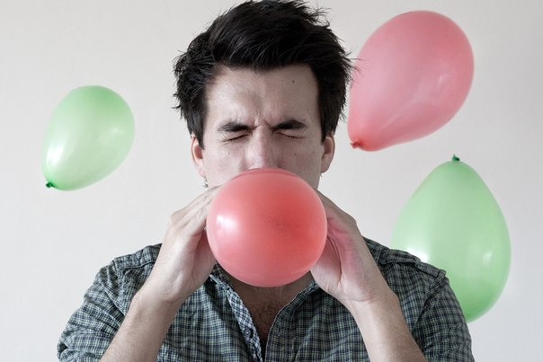 Как в домашних условиях надуть воздушные шары