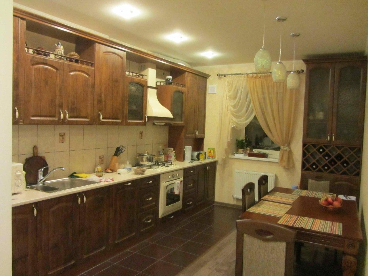 Кухня 4 метра длина дизайн фото