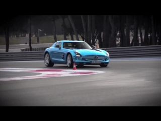 Chris Harris on cars - Mercedes SLS Electric Drive. Can Volts Ever Match Pistons [BMIRussian]