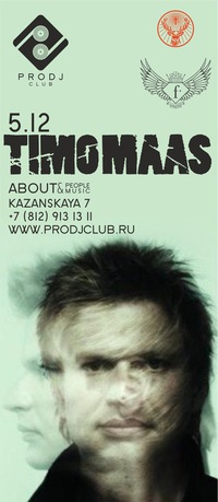 TIMO MAAS in da PRODJ club