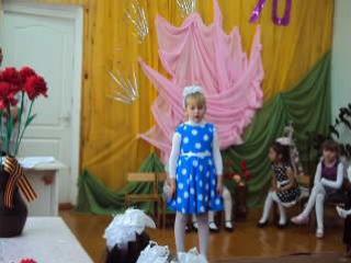 песня про Катюшу.....(Екатерина Климова  6 лет .)