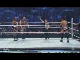 (WWEWM) ВВЕ Смекдаун 03.09.2015 - Братья Дадли (Бубба Рэй и Дивон) против Прайм Тайм Игроков (Даррен Янг и Тайтус О'Нил)