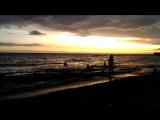 Атмосферно встречаем закат на Сибонее под шум моря и музыку