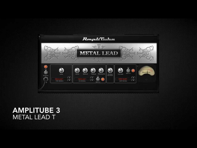 Recabinet 4 Amplitube 3 Revalver 4 Lepou TH2 - Mesa Boogie Rectifier (w AT3s Cab)