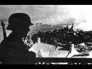 Киев, Украина. Фашисты торжественно входят, горожане радостно приветствуют. 1941, кинохроника