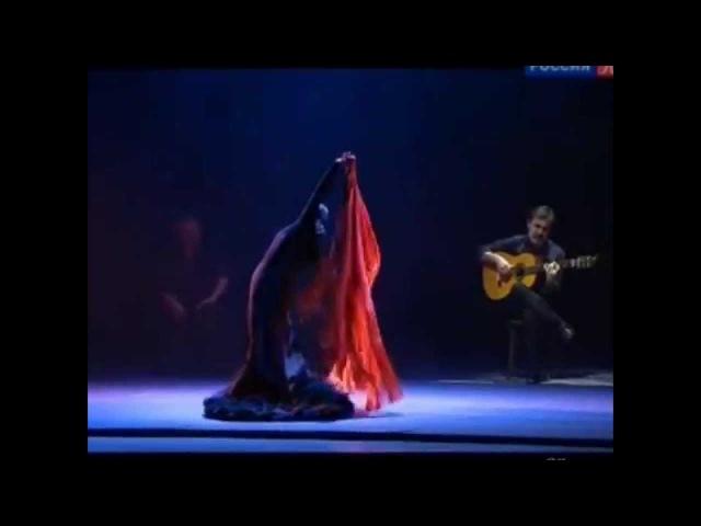 "Eva Yerbabuena ""Alas Negras"" (Moscu, 20.11.2015)   Flamenco dance   フラメンコのダンサー"