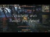 BDO-Black Desert Online - Territory war [Valkyrie gameplay] - Mass PVP/GVG -1vs2-FullHD