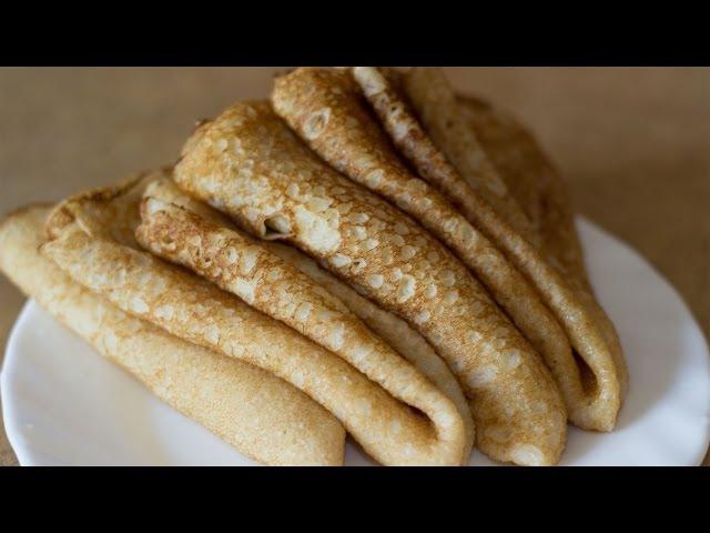 Заварные БЛИНЫ НА СЫВОРОТКЕ тонкие | How to ook Thin Custard Pancakes
