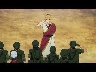 [RD] Врата: Там бьются наши воины — Огнедышащие драконы 1 серия 2 сезон русская озвучка Screem & RoseMary / Gate: Jieitai Kanoch