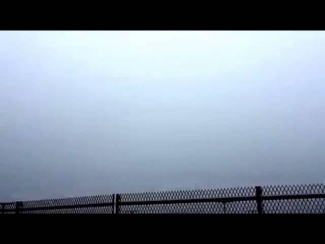 Посадка в густом тумане