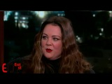 Melissa Mccarthy Interview - Talk about new movie The Boss | Jimmy Kimmel 2015 11 19
