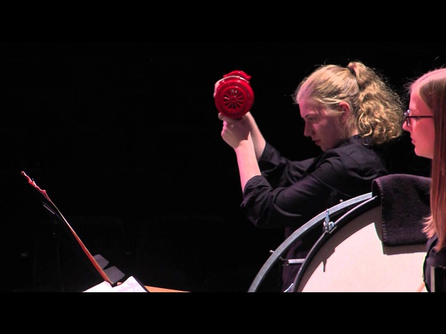 Varèse: Ionisation - Boston Conservatory Percussion Ensemble