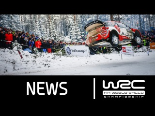 WRC Rally Sweden 2016: Stages 13-17