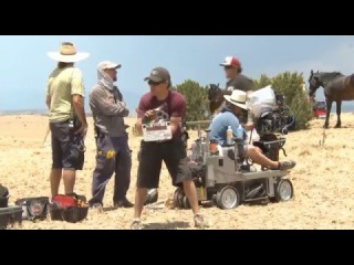 «Джейн берет ружье» — видео со съемочной площадки