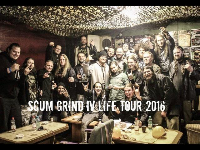 SCUMGRIND IV LIFE TOUR REPORT 2016 WACO JESUS, CLITEATER, More
