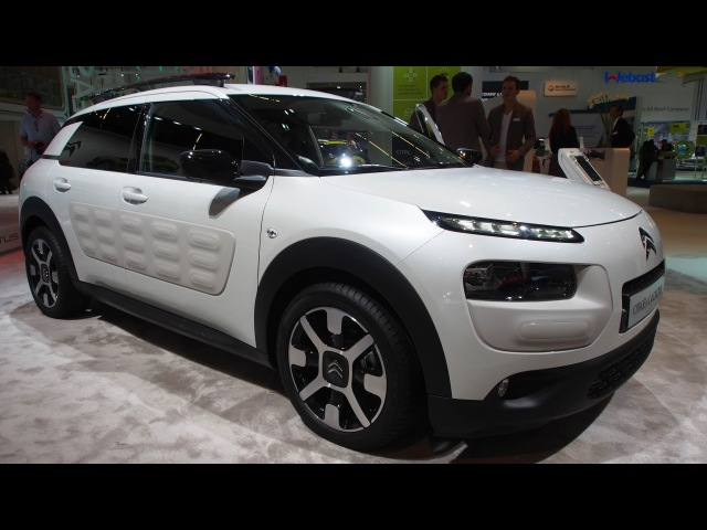 2016 Citroen C4 Cactus BlueHDi 100 StopStart ETG6 Shine - Exterior and Interior Walkaround