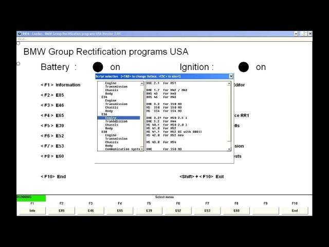 Inpa - Read error memory