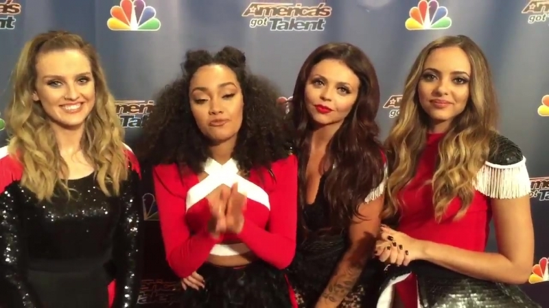 Little Mix just performed their hit BlackMagic on @NBCagt at @RadioCity
