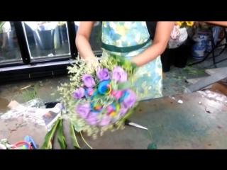 Флористика для начинающих- как составить и упаковать чудесный букет своими руками (мастер класс).
