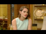 Kristen Stewart on Live! with Kelly and Michael