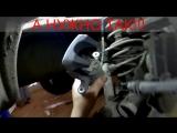 Renault Fluence (Рено Флюенс) замена задних тормозных колодок